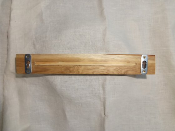 Магнитный держатель для ножей из дерева (дуб)